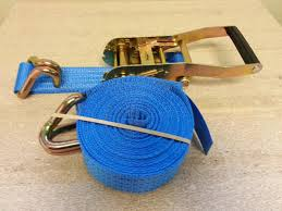 Ratcheting straps