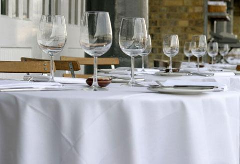 Linen for restaurant